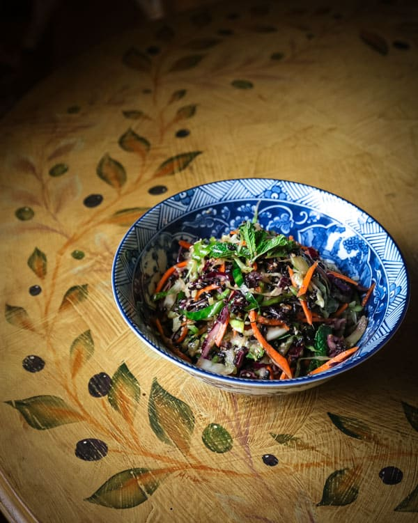 Pressed cabbage salad with ginger miso vinaigrette eating works pressed salad forumfinder Choice Image