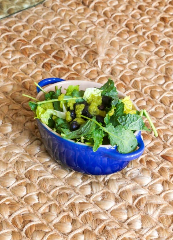 Salad with Hot Sauce