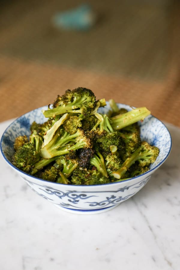 Roasted Broccoli with Lemon and Butter