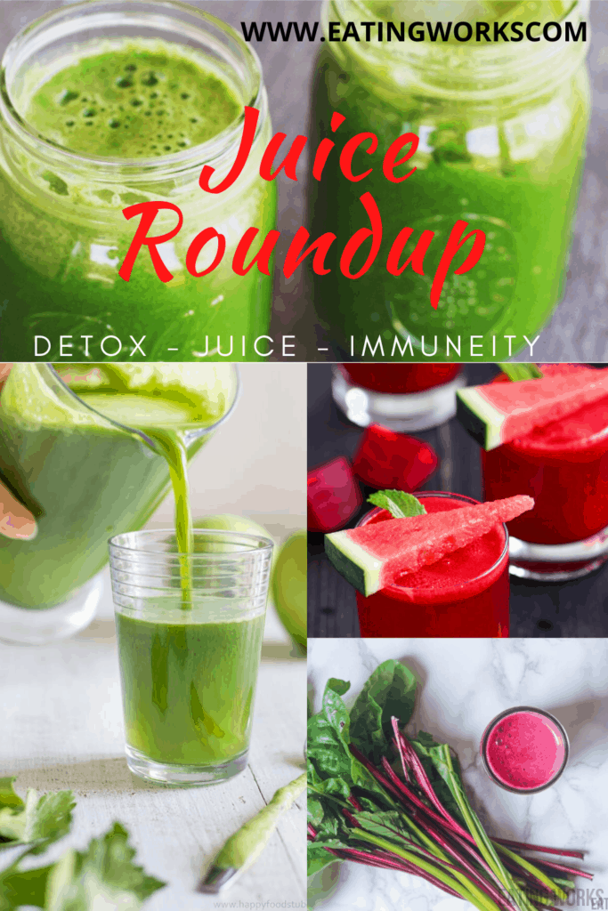 Vegetable Juice, Four Vegetable Juice Recipes For Immunity