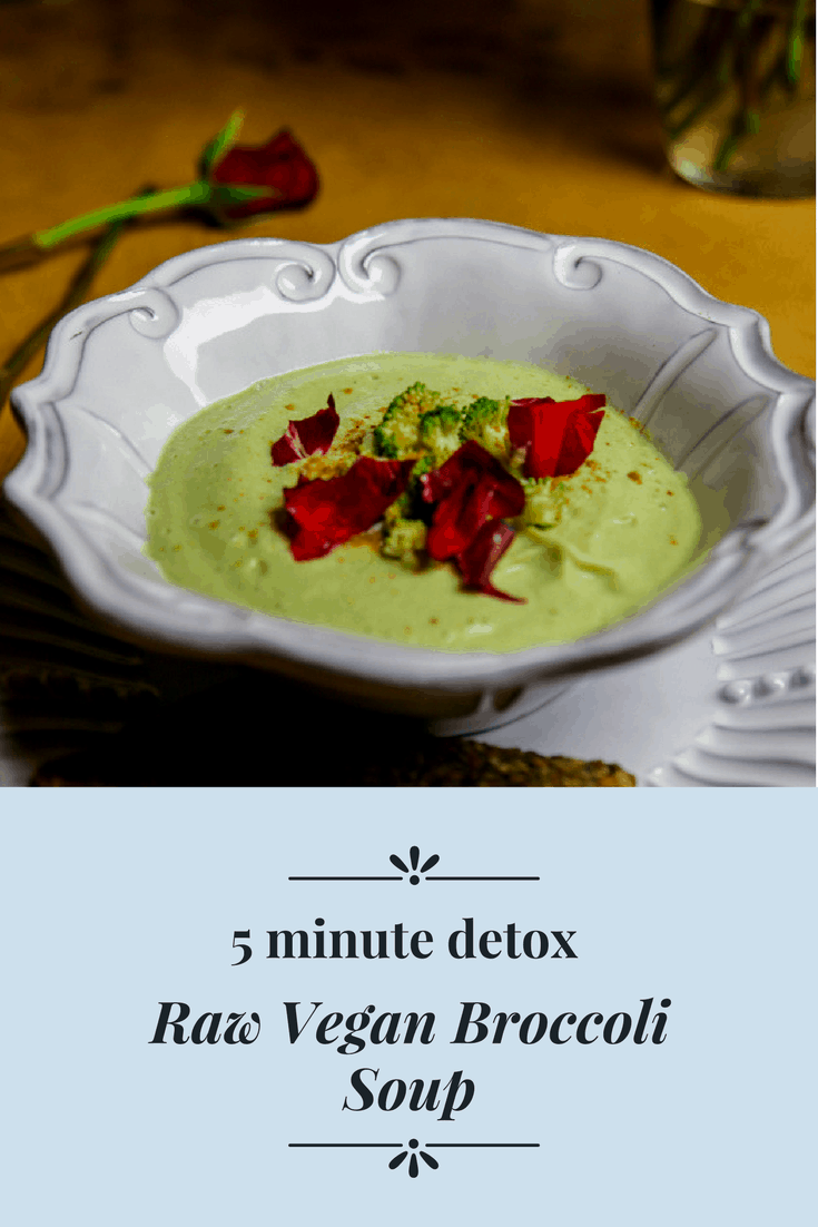 5 minute raw broccoli soup eating works these hydrating and predigested meals are the perfect addition or in my opinion a main course for breakfast lunch or dinner forumfinder Images